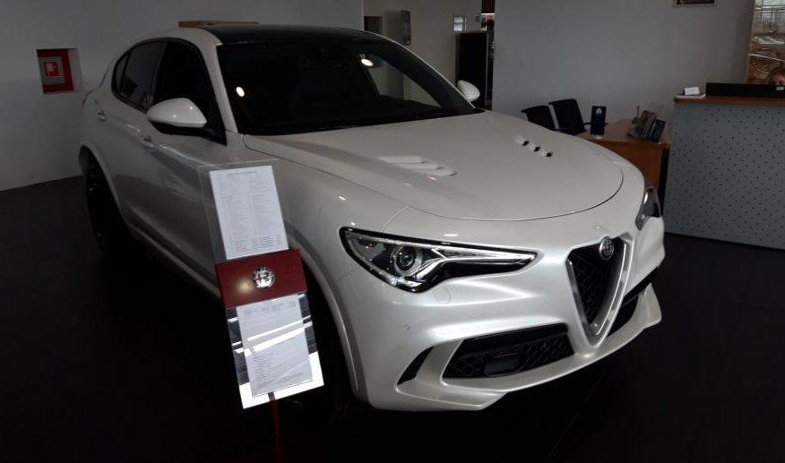 Alfa Romeo Stelvio 2,9 V6 QV