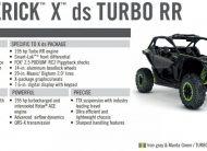 BRP Can-Am Maverick X DS Turbo RR