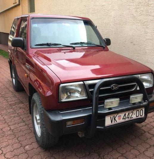 Daihatsu Feroza 1,6 terensko vozilo