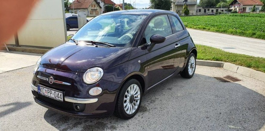 Fiat 500 1.3 mjtd, reg.1.god. servisna, garancija, 124tkm