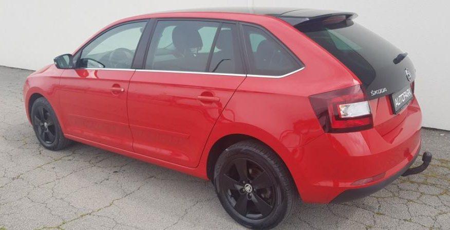 Jamstvo Škoda Rapid 1,4  CR TDI  Navi. Panorama,alu. felge.temp…