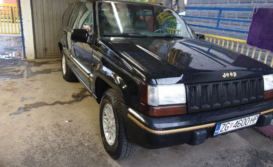 Jeep Grand Cherokee 5,2, 4×4 limited