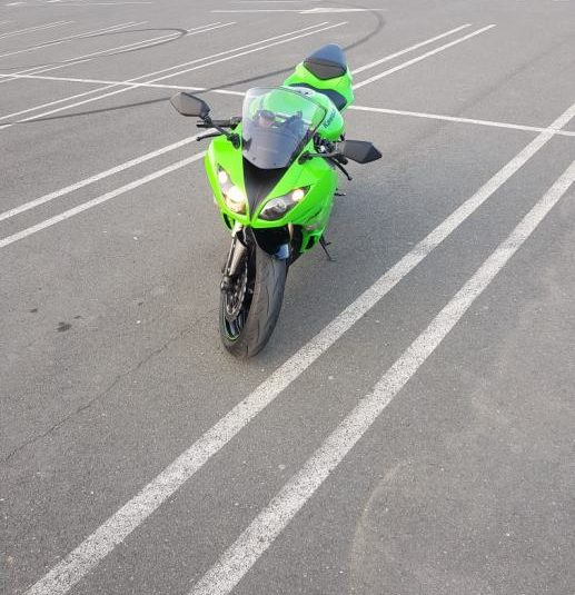 Kawasaki 636 599cm3