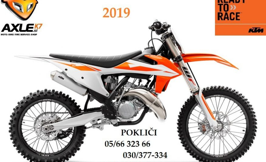 KTM 125 SX 2019 124 cm3