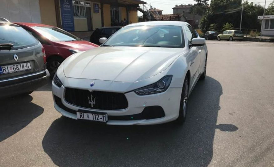 Maserati Ghibli 3,0 D V6 automatik