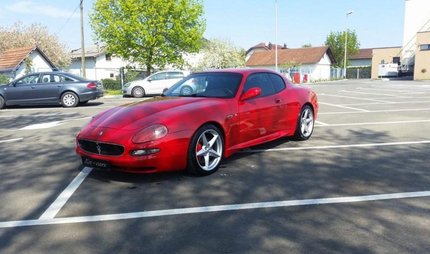 Maserati Cambiocorsa  4.2 V8 450KS Shacal auspuh