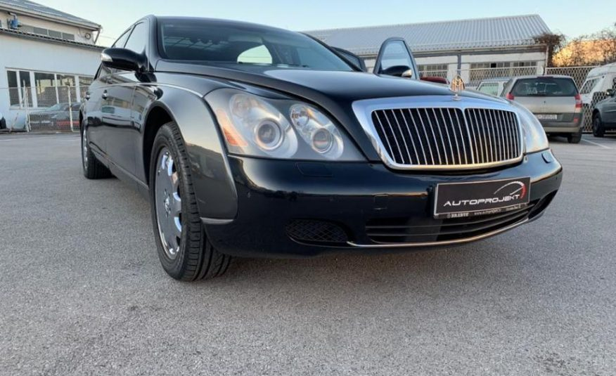 Maybach V12 62 Lang