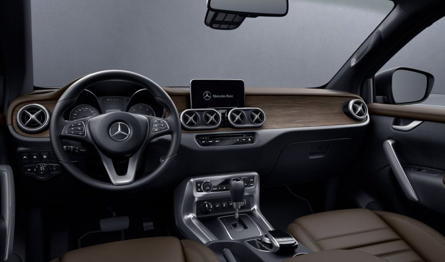 Mercedes-Benz X-klasa 350D POWER 4MATIC automatik