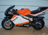 Mini Moto KXD, POCKET BIKE NOVO REPSOL SVA OPREMA 50 cm3