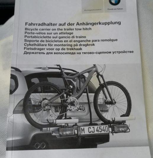 Nosač za 2 bicikla (kuka)