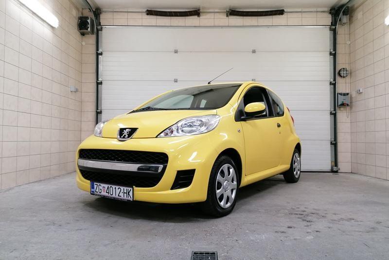Peugeot 107 1.0 urban, 2009 godina, redizajn