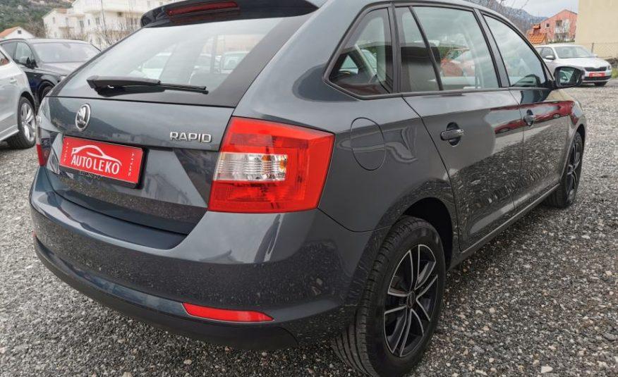 Škoda Rapid 1,4 TDI Spaceback Tempomat Park senzori Autom. klima