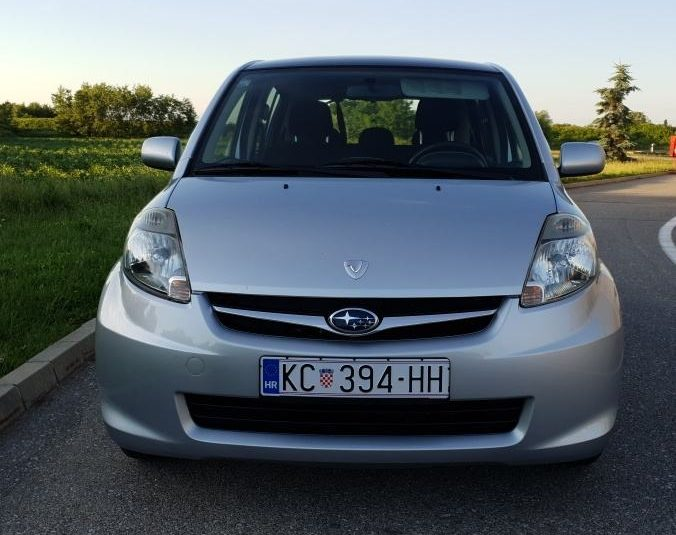 Subaru Justy 1,0 VVti Trendy 112500 km , reg. 6/21 g. , klima ,