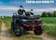 TGB BLADE 1000CC LTX IRS EFI 4×4 EPS SERVO T3B TRAKTOR NOVO